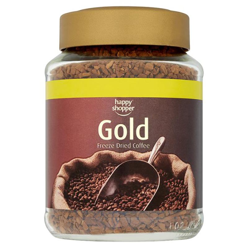 Happy Shopper Gold Freeze Dried Coffee - 90g