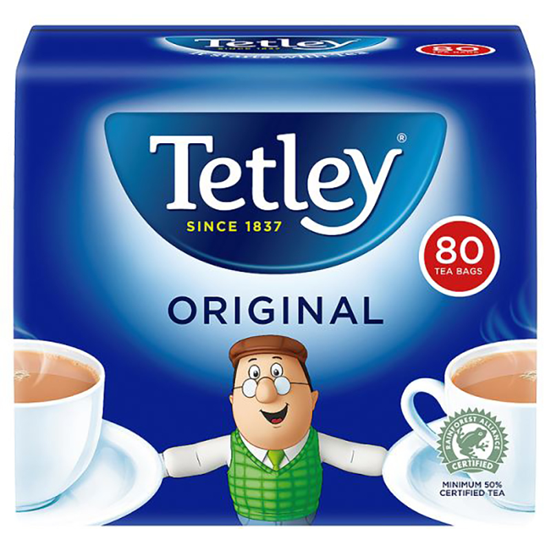 Branded Tea Bags Box of 80