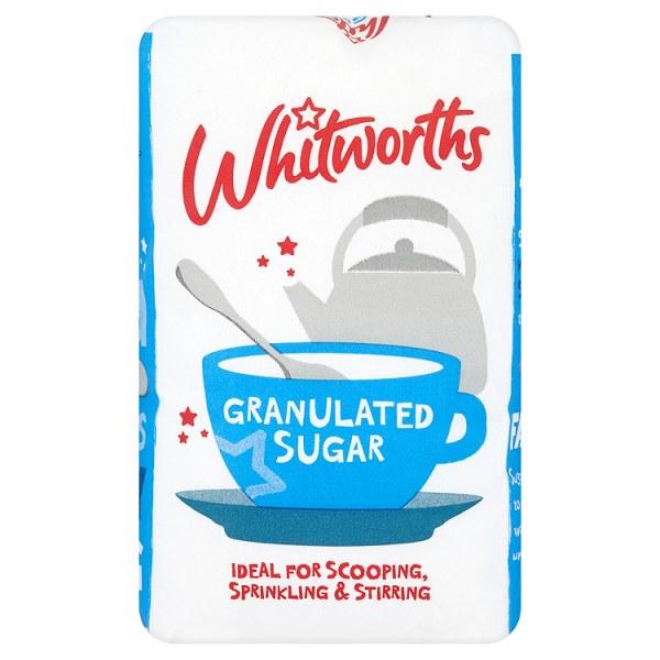 Whitworths Granulated Sugar - 1kg