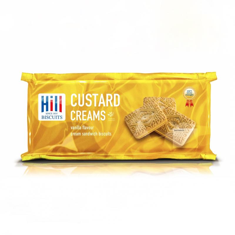 Hills Custard Cream Biscuits - 300g