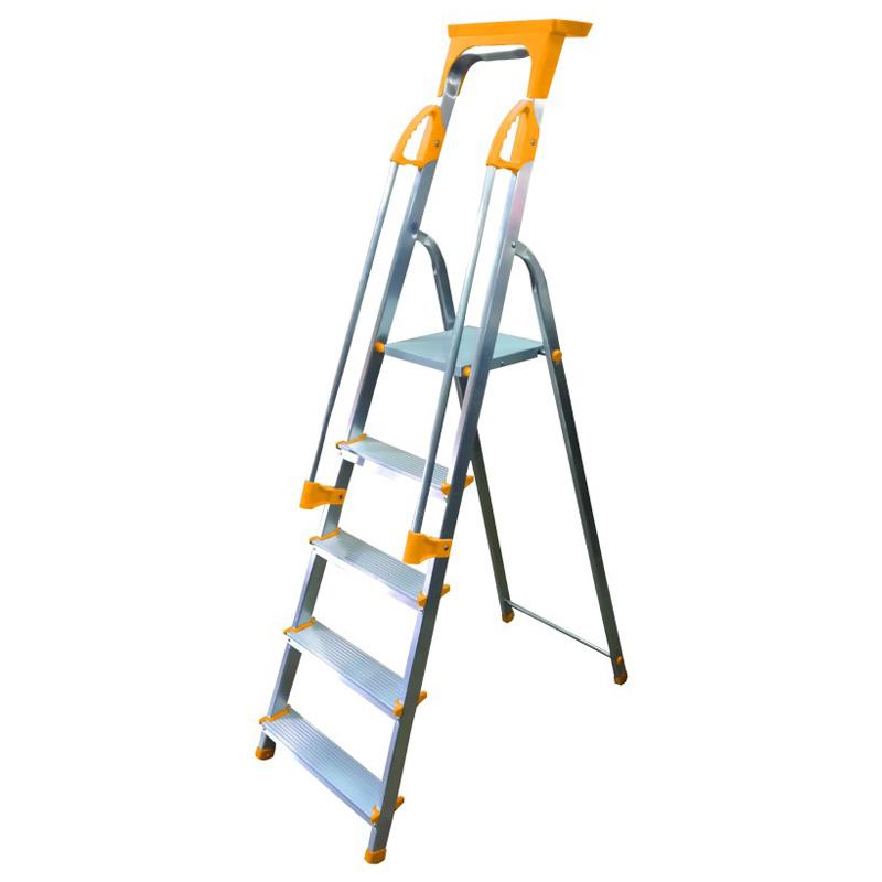 Supa-Step 5 Tread EN131 Step Ladder With Dual Handrails