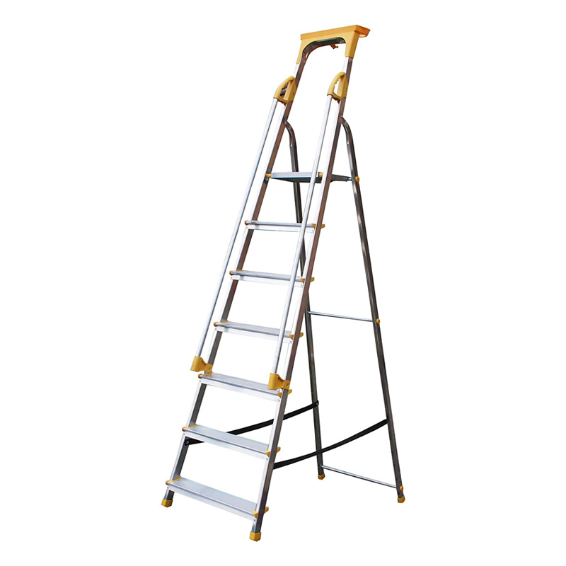 Supa-Step 7 Tread EN131 Step Ladder With Dual Handrails