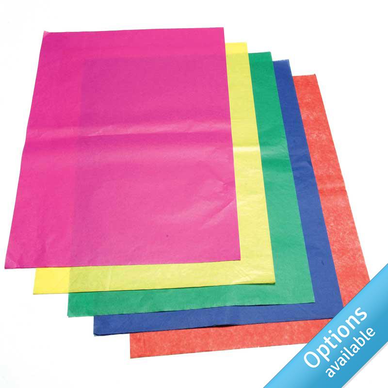 Coloured Cap Tissue Paper