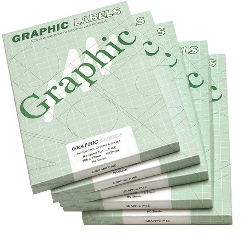 105x148mm 4 Per Sheet Laser Labels (100)