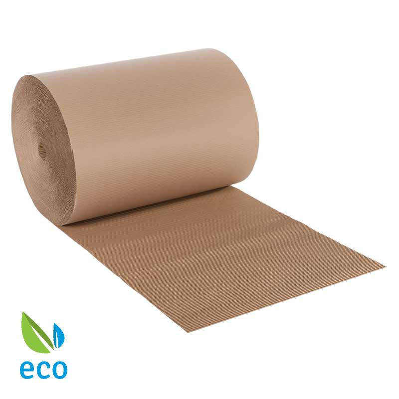 100mmx75m Ecorap™ Corrugated Paper Rolls