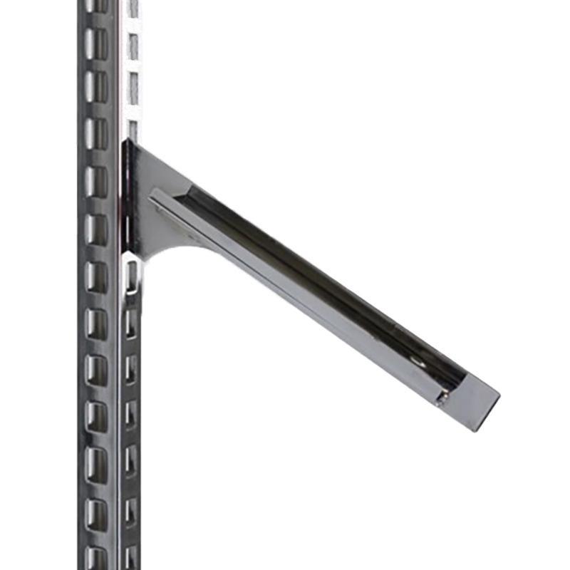 280mm Instore® Elite Sloping Shelf Bracket Chrome (2)