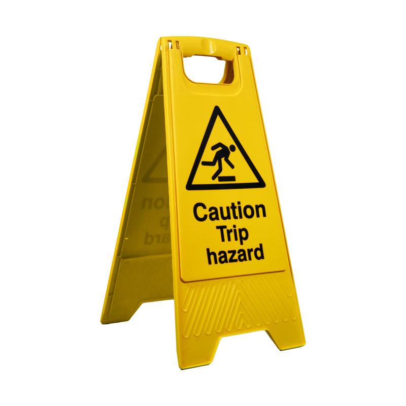 Caution Trip Hazard Floor Sign