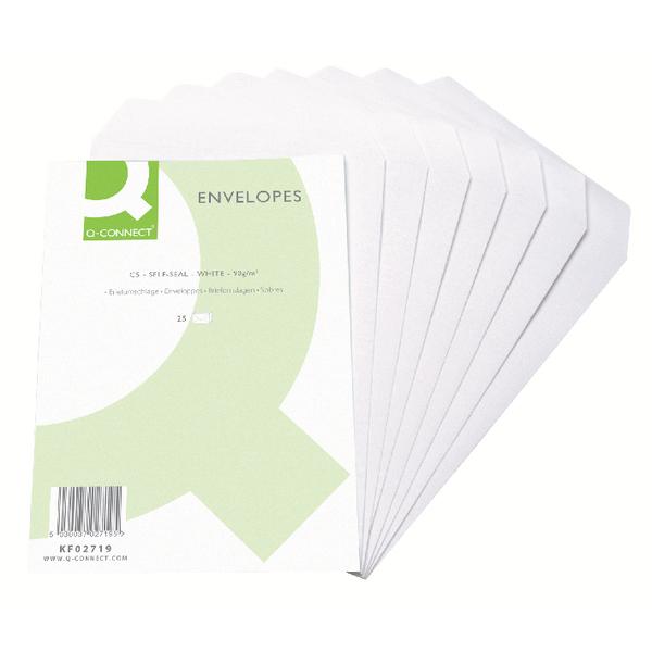 C5 Self Seal White Pocket Envelopes (pack of 25) (25)