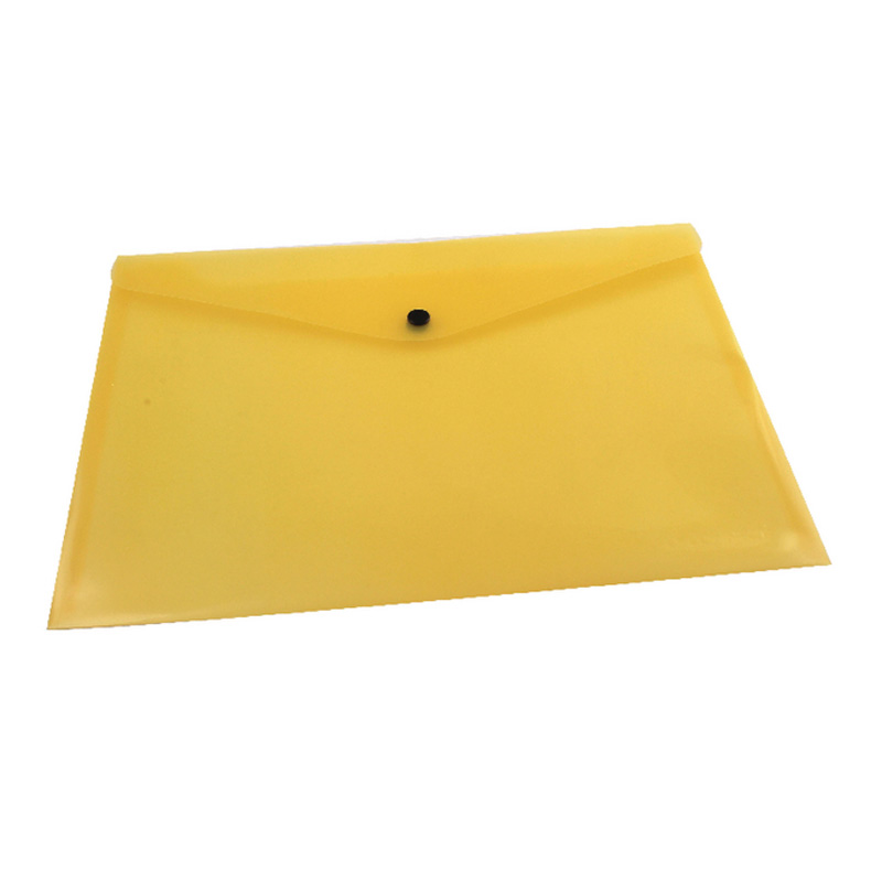 A4 Q Connect Document Folder Polyprop Yellow X12 (12)