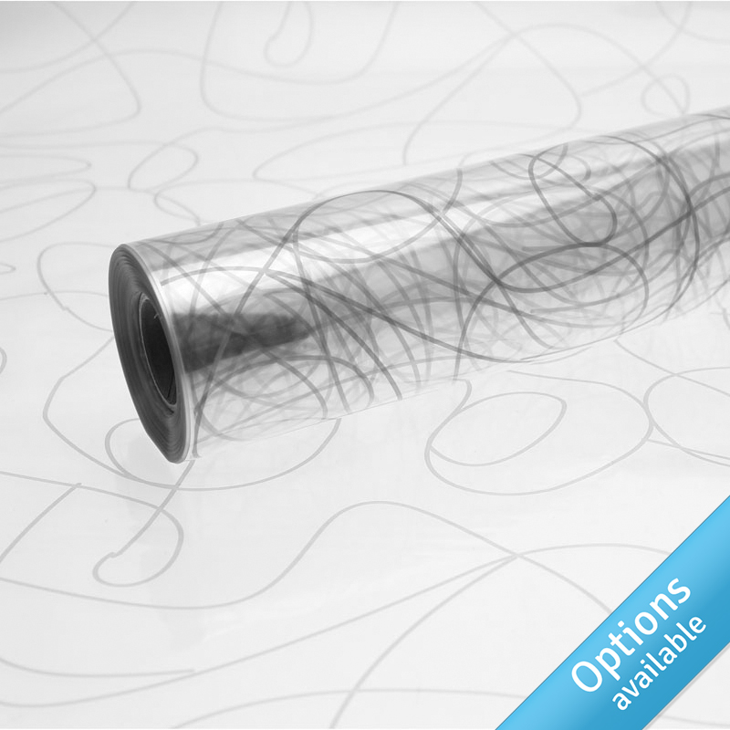 Printed Cellophane - Swirl