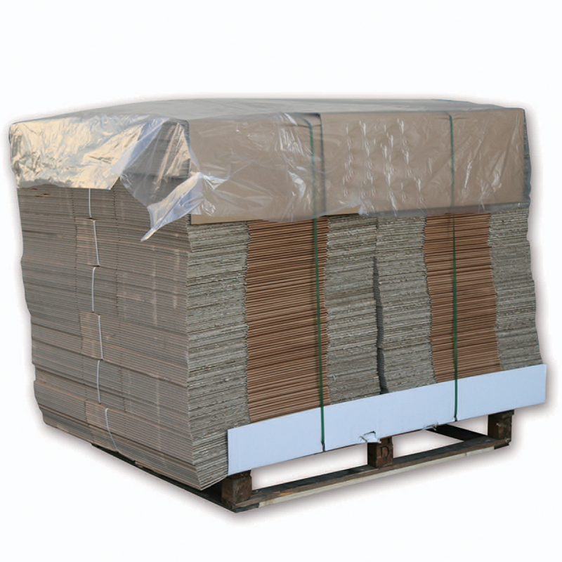 900/1800x1800mm Clear Polythene Top Sheets - 150 Per Roll