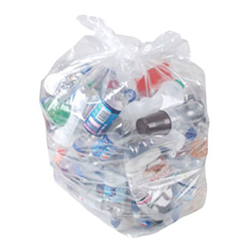 """18x29x34"""" 120g Clear Sack On A Roll (pack of 20) (20)"""