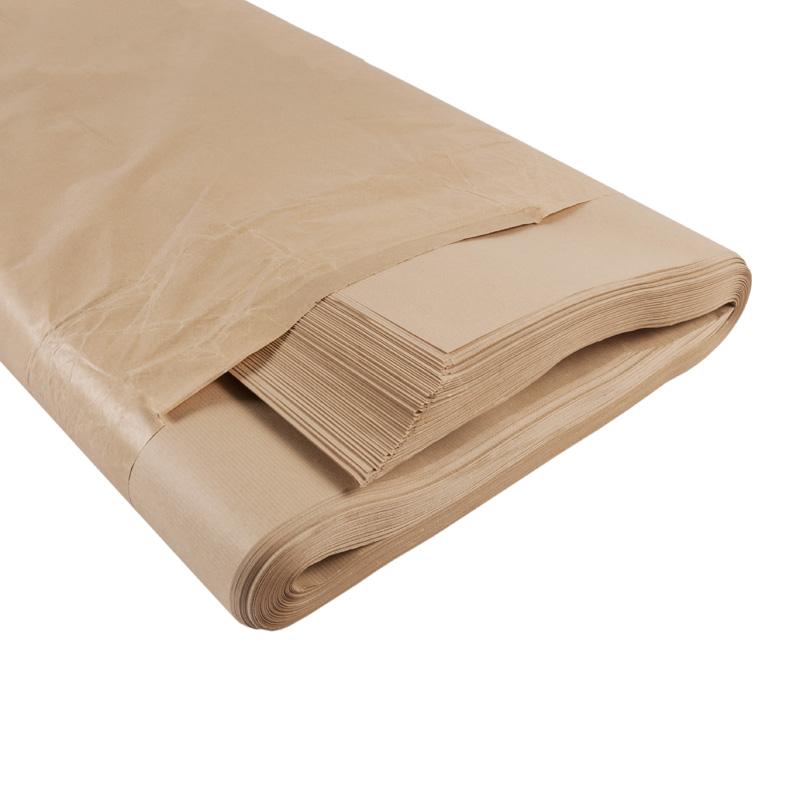 500x750mm 39gsm Pure Kraft Paper - REAM, 1X480 Sheets