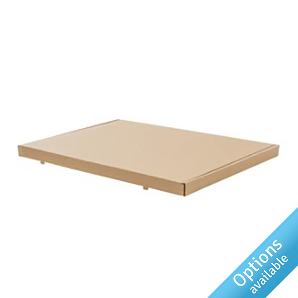 Eco-friendly pizza box style letterbox mailers