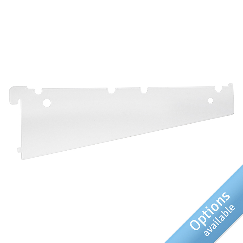 Blade Brackets For Pure White Shelves