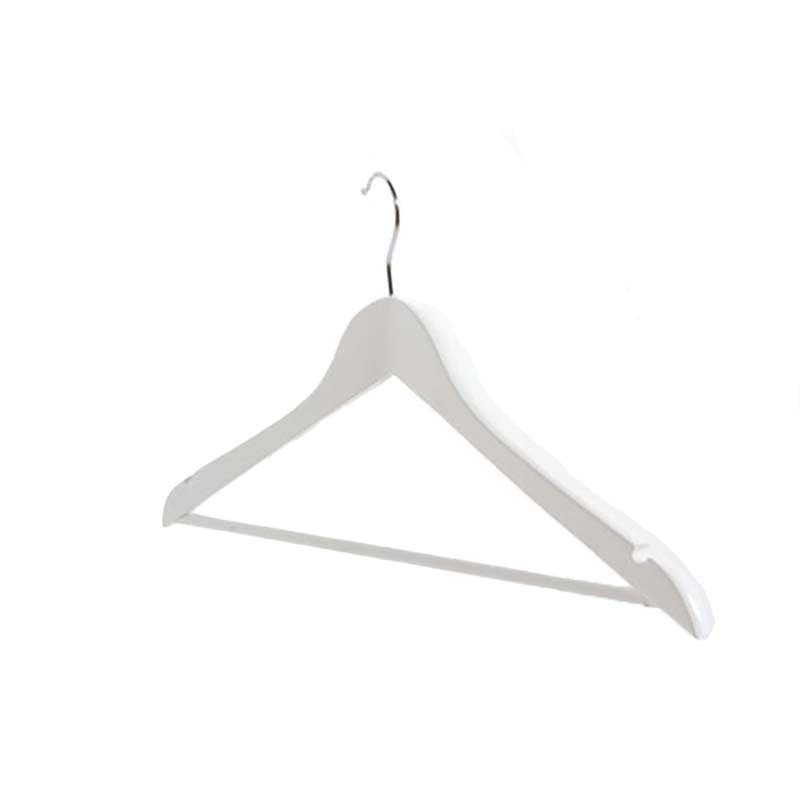 450mm WHITE Wishbone Hangers With Bar & Notches