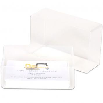 95x60x35mm Plastic Business Card Boxes (250)