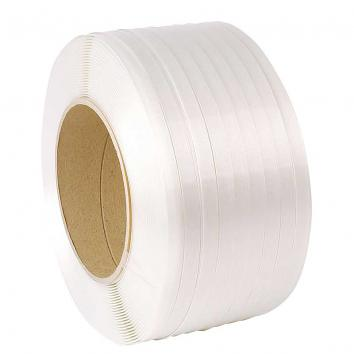 16mmx850m Woven Corded Polyester Strapping - 450kg Breaking Strain