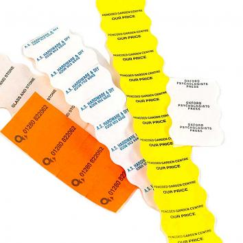 CT12 26x16mm Dayglo Orange Price Gun Labels - 1x36k