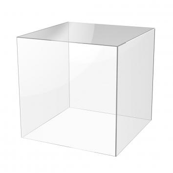 200mm 5-Sided Acrylic Cubes