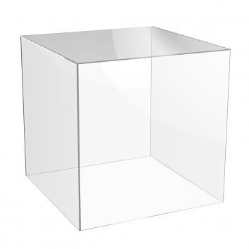 300mm 5-Sided Acrylic Cubes