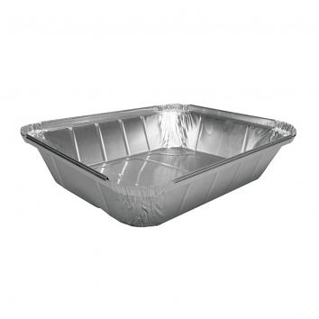 320x250x57mm Half Gastronorm Foil Containers