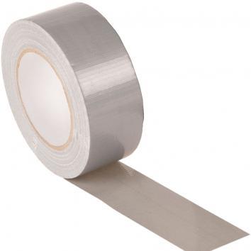 50mmx50m Silver Gaffa Tape - Roll