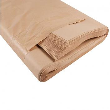 900x1150mm 70gsm Pure Ribbed Kraft Paper Sheets (240 Sheets Per Ream)