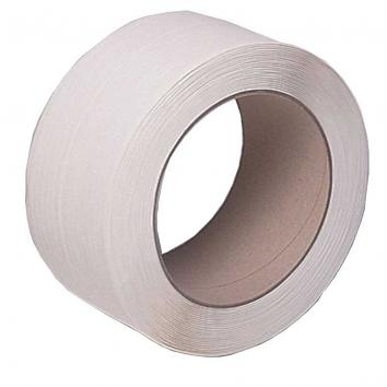12mmx3000m 130kg White Polyprop Machine Strapping - Roll