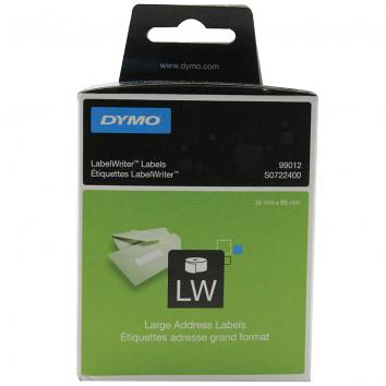 DYMO Large Address Labels 36 x 89mm. Rolls of 520