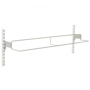 1000mm Twin Slot Chrome Shoe Rack