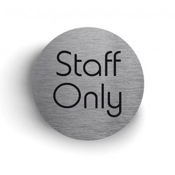 75mm Diameter S/A Sign Staff Only
