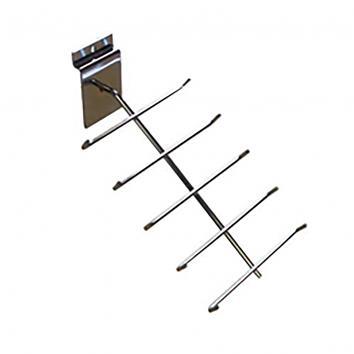 5 bar Tie & Belt Arm For Slatwall  WX2625