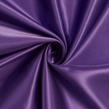 Acetate Satin 112cm Purple