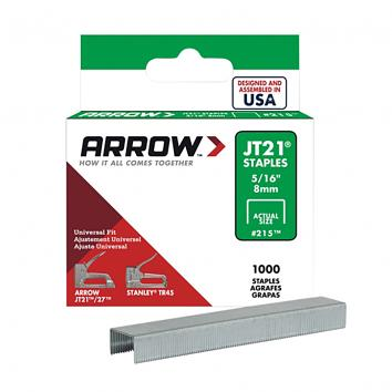 Arrow JT21 Staples 8mm  p.5000