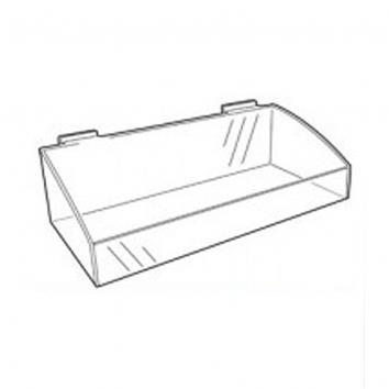 Slatwall Deep Tray  250x200
