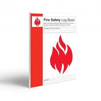 Fire Safety Log Book A4