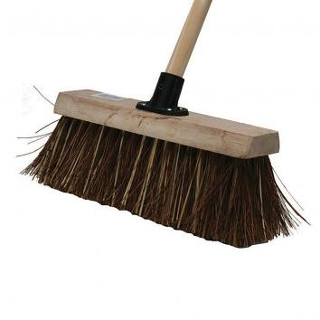 "12"" Bassine Broom With Handle"