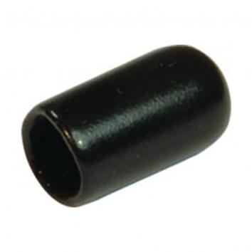 Black Tips PVC Ends For 6mm Slat / Peg Prongs