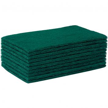 Green Scouring Pads (Pack of 10) (10)