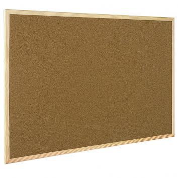 900x600mm Cork Notice Board