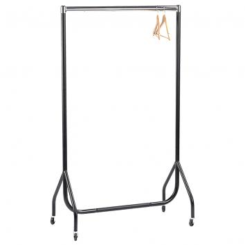 Std Black/Chrome Garment Rails