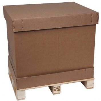 Full Europa Box, Lid & Sleeve, Without a Pallet, Internal Dimensions1170x770x750mm - Sleeve Supplied Flat Pack Out Of The Base & Lid