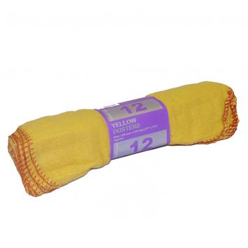 Yellow Duster (pack of 10)