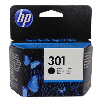 HP No 301 Black Inkjet Cartridge