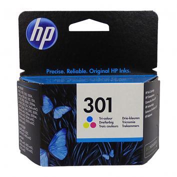 HP No 301 Colour Inkjet Cartridge