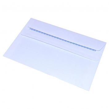 C6 Self Seal White Pocket Envelopes - 1x50