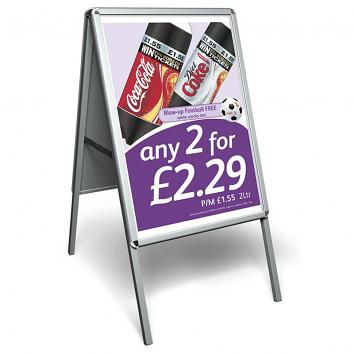 A1 (594x840mm) Aluminium Snap Frame A-Board