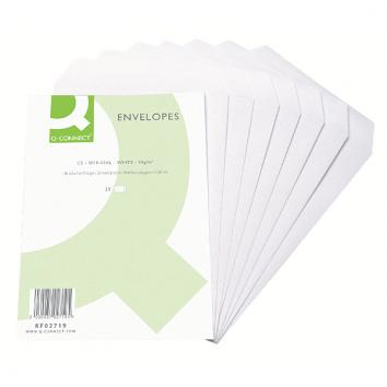 C5 Self Seal White Pocket Envelopes (pack of 25)