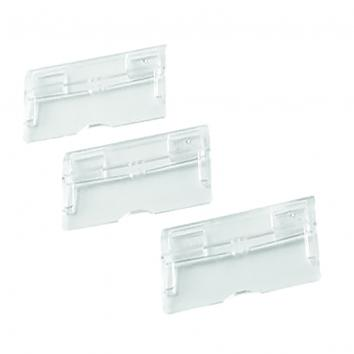 Q Connect Suspension File Tabs - Clear (Pack of 50)